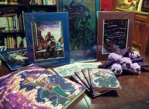 New books, prints and plush.
