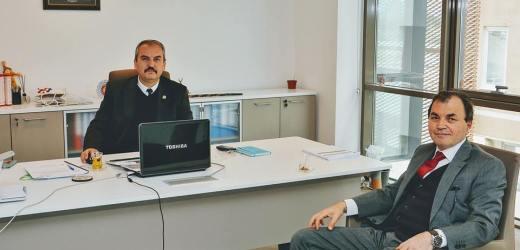 Süleyman Ruhi Aydemir'den ziyaret.