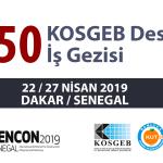 %50 KOSGEB Destekli Senegal İş Gezisi