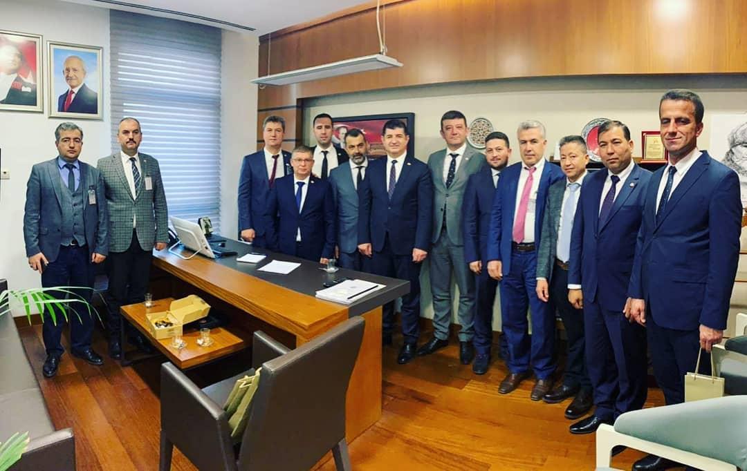 Antalya Milletvekillerimizi ziyaret ettik.