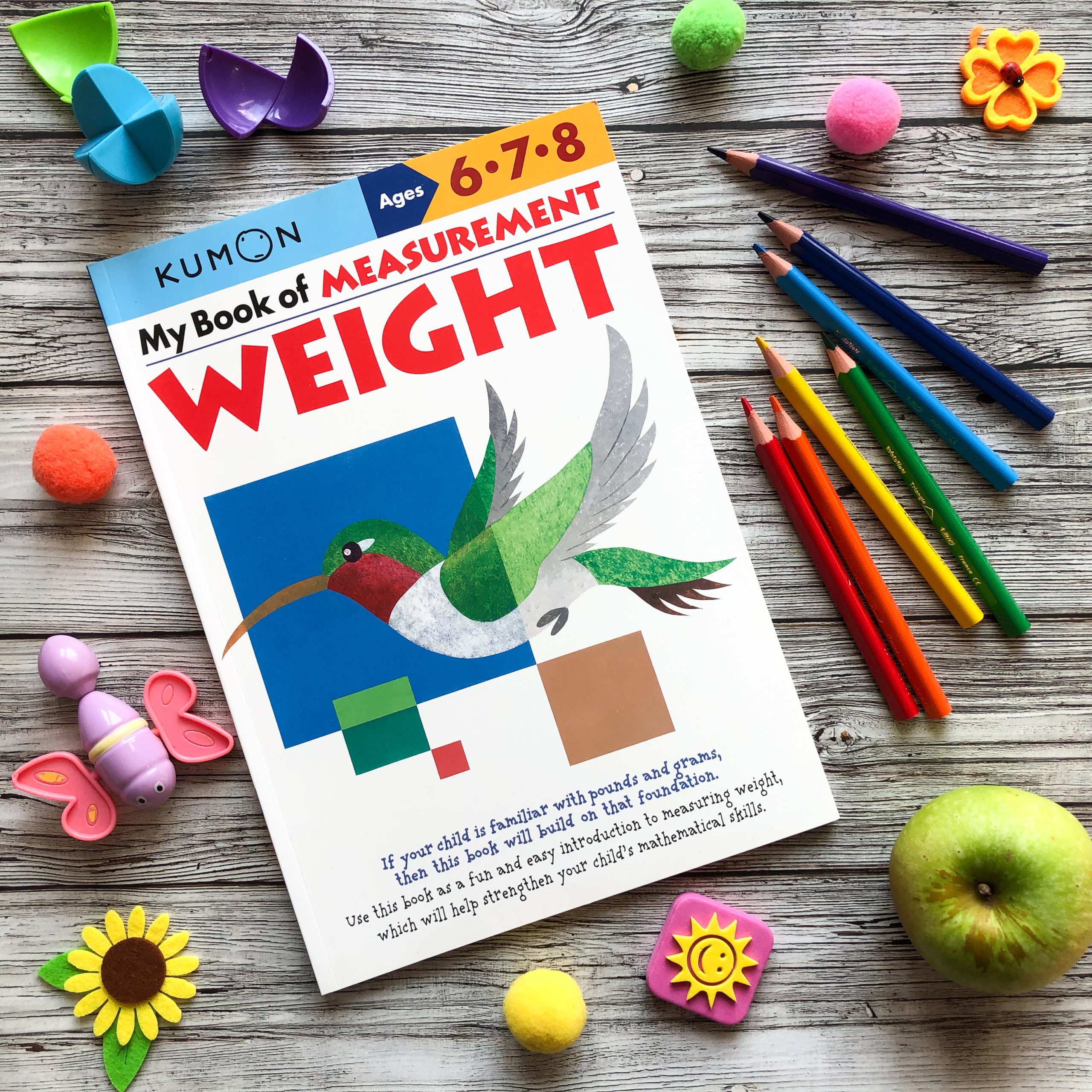 My Book of Measurement: Weight, 6-8 1
