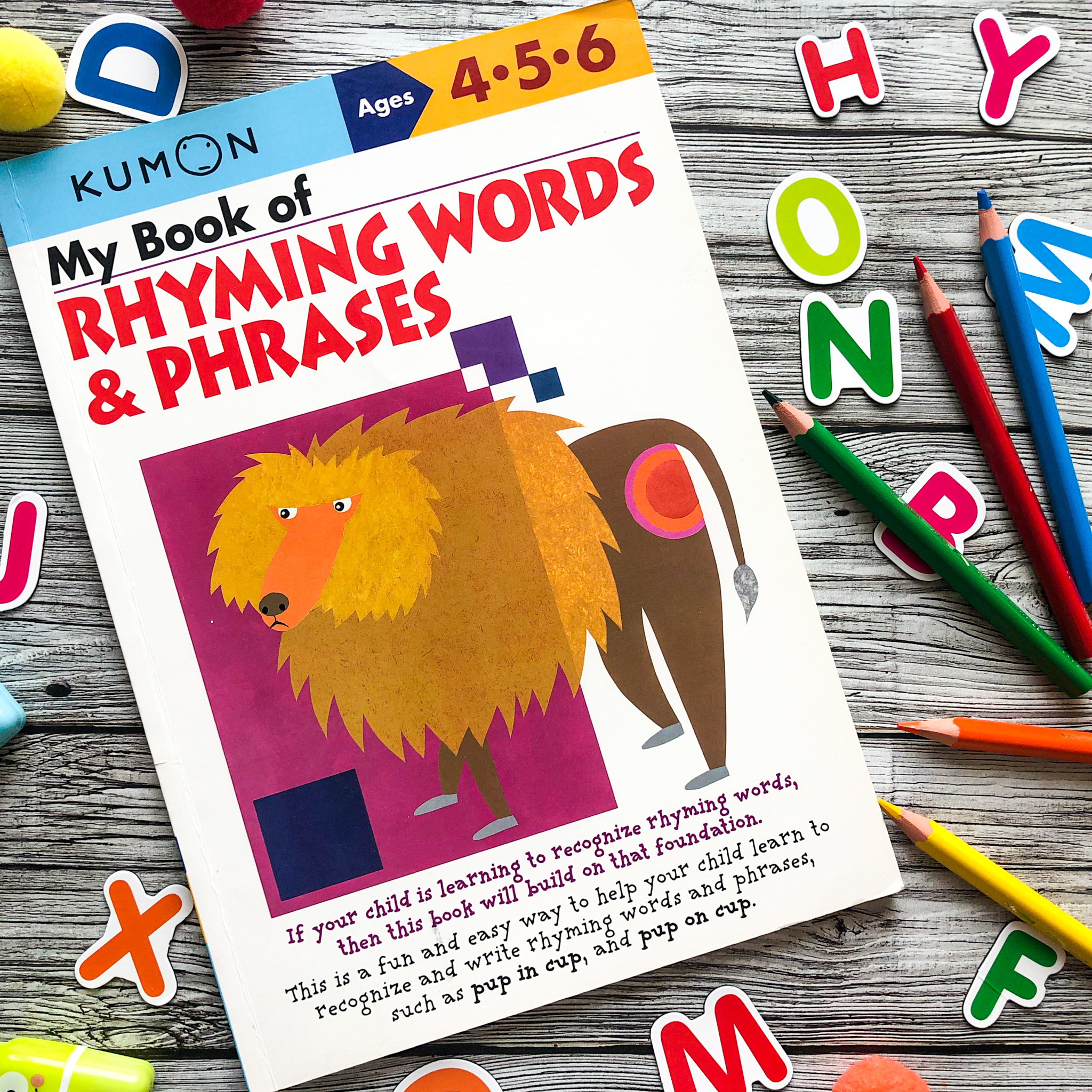 My Book Of Rhyming Words & Phrases, 4-6
