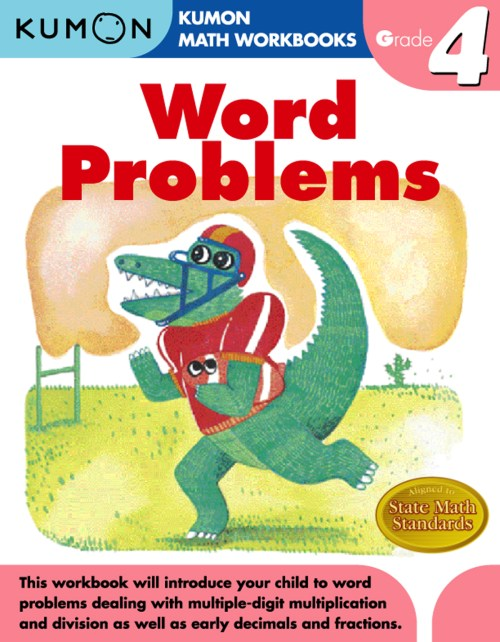 small resolution of Grade 4 Word Problems   Kumon Publishing