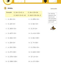 Grade 5 Decimals \u0026 Fractions   Kumon Publishing [ 2560 x 1960 Pixel ]