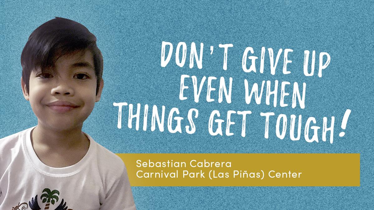 Sebastian Cabrera's entry