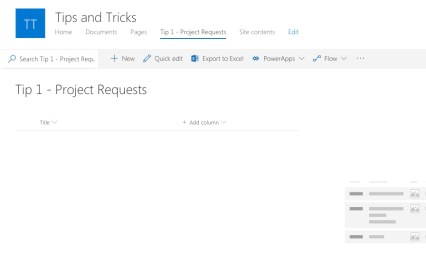 Newly Provisioned SharePoint List with No Fields Yet