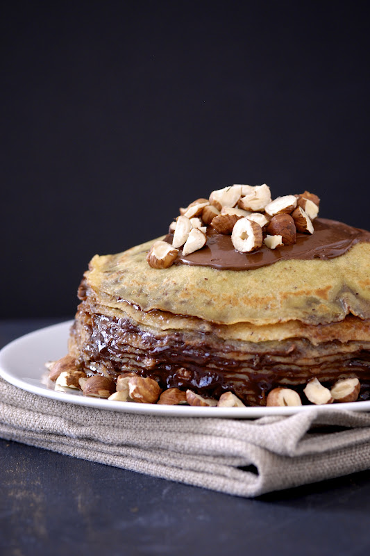Nutella Crepe Cake Kumquat Gluten Free Recipes