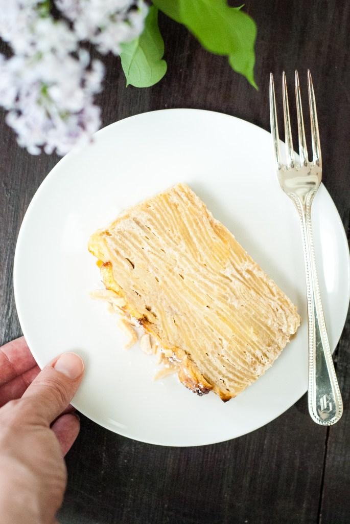 Grain-Free Invisible Apple Cake | kumquatblog.com @kumquatblog recipe