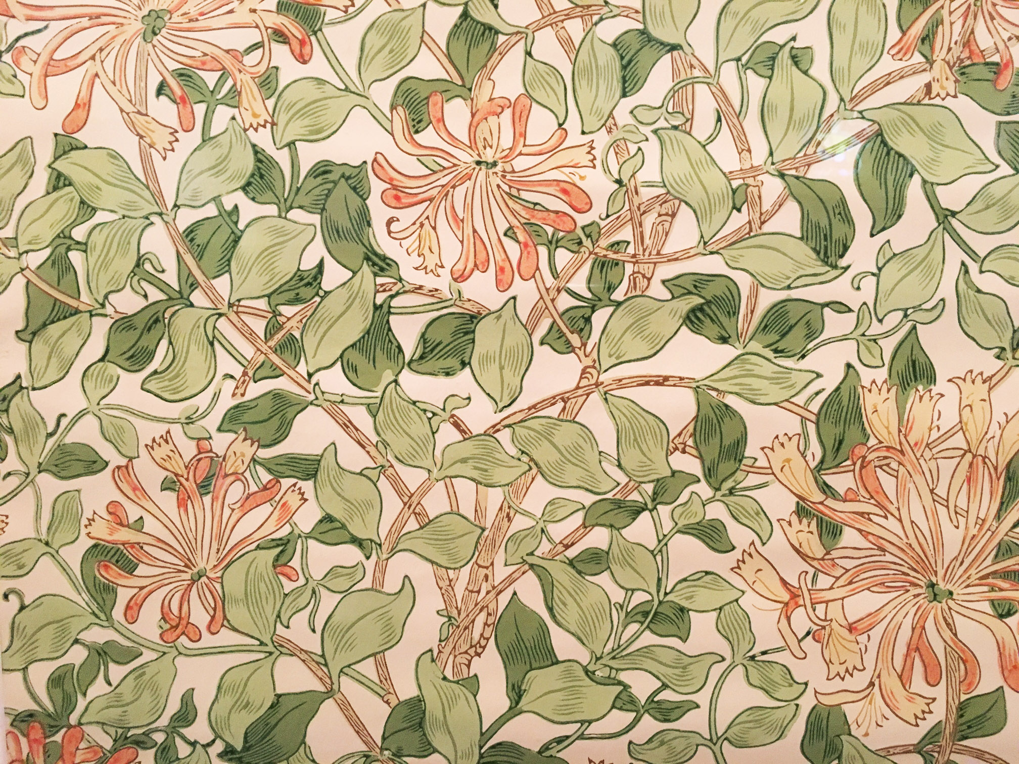William-Morris-Flower-Design