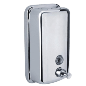 liquid-soap-dispensor-metallic
