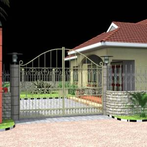 3BHK Residential House Plan