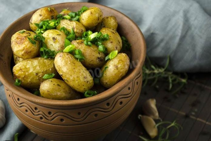 Готовим из мелкой картошки