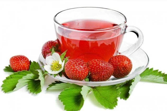 Чай из земляничных листьев