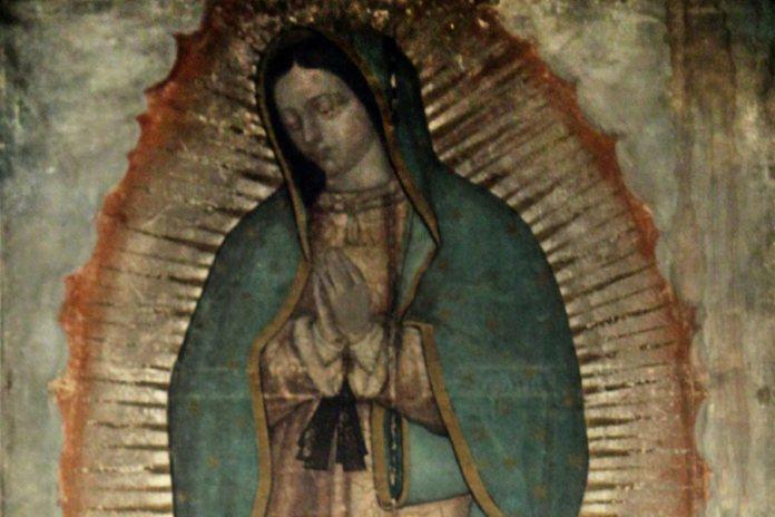 Икона Божией Матери из Гваделупы