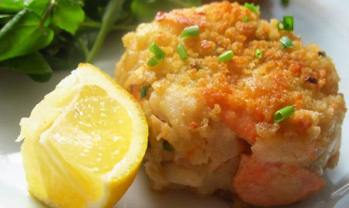 Рыбное филе в картофельной корочке