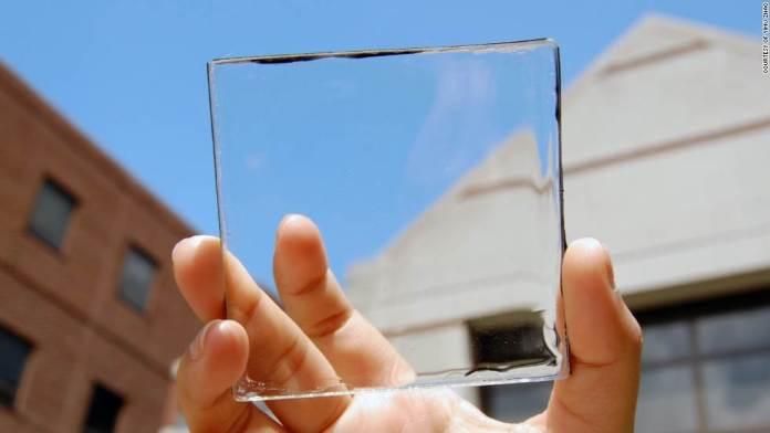 прозрачные фотогальванические элементы