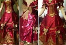 Сказочные платья из подарочной упаковки
