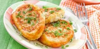 Картофельные зразы с начинкой из шампиньонов