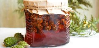 варенье из еловых шишек