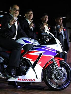 All New Honda CBR250R dual eyes 2014 2