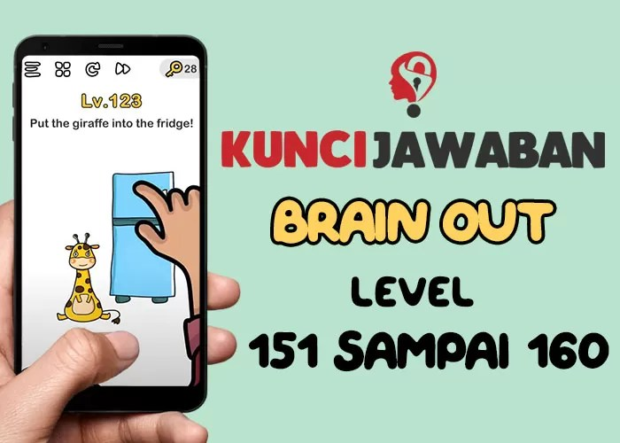 Jawaban Brain Out Level 151
