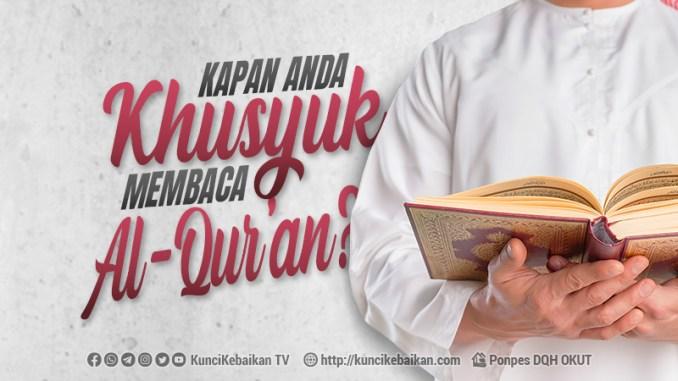 khuyuk membaca al-quran