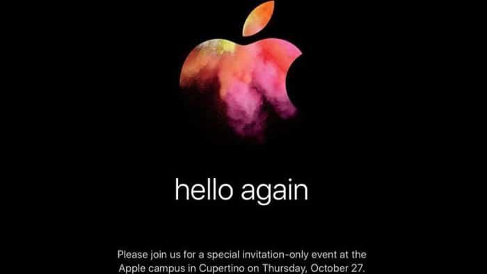 Screenshot der Einladung