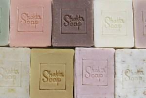shakta handmade natural soap banner