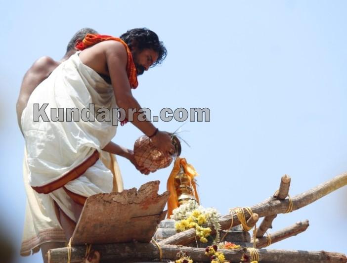 Heranjalu Shri Durgapameshwari Temple - Brahma Kalashotsava (7)