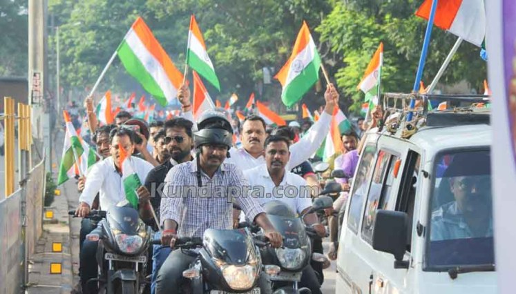 Tiranga Yatre - Bike Rally in Kundapura (13)