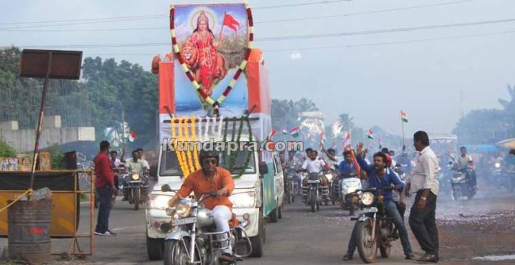 Tiranga Yatre - Bike Rally in Kundapura (2)