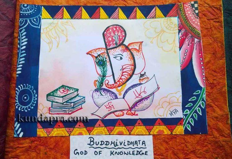 Shreyas Ganapathi Art - Buddividata