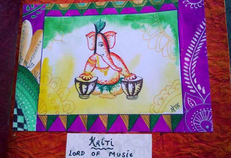 Shreyas Ganapathi Art - Kriti
