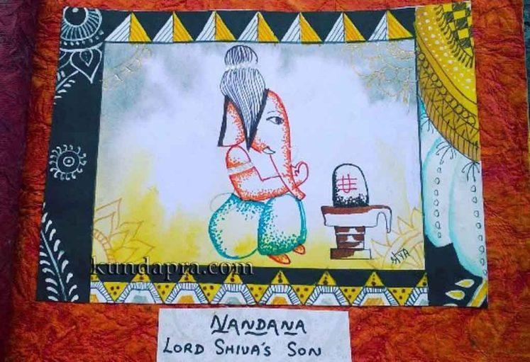 Shreyas Ganapathi Art - Nandana