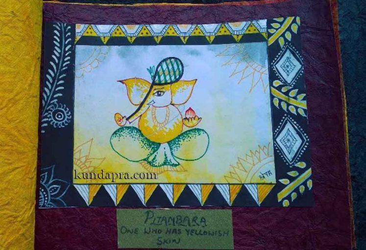 Shreyas Ganapathi Art - Pitambara