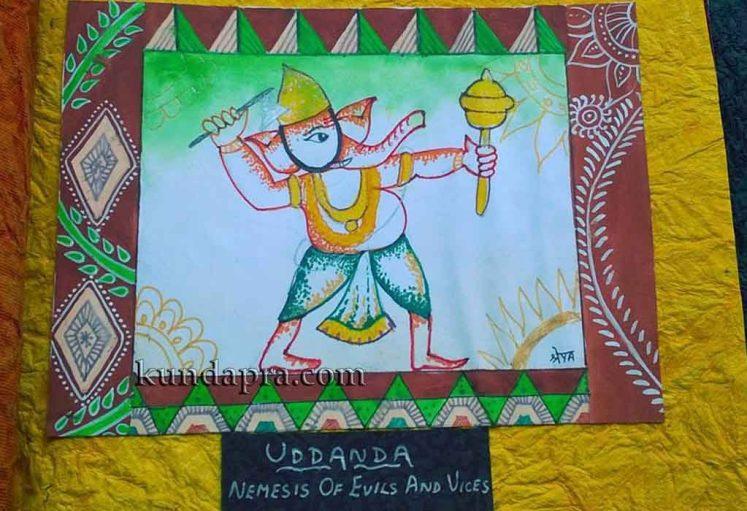 Shreyas Ganapathi Art - Uddanda
