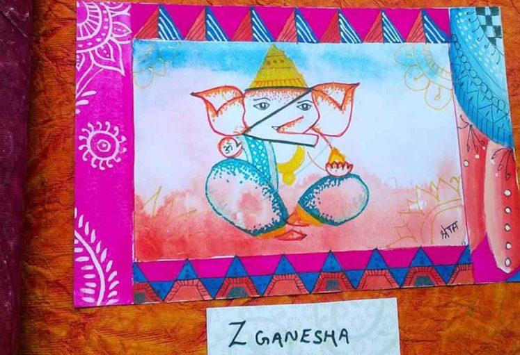 Shreyas Ganapathi Art - Z Ganapa