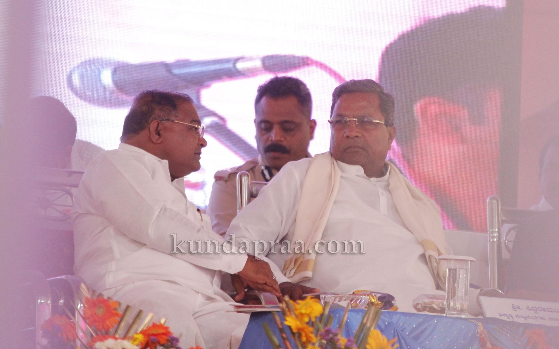 ಗೋಪಾಲ ಪೂಜಾರಿ ಜನಪರ ಕಾಳಜಿಯ ಶಾಸಕ: ಸಿಎಂ ಸಿದ್ದರಾಮಯ್ಯ