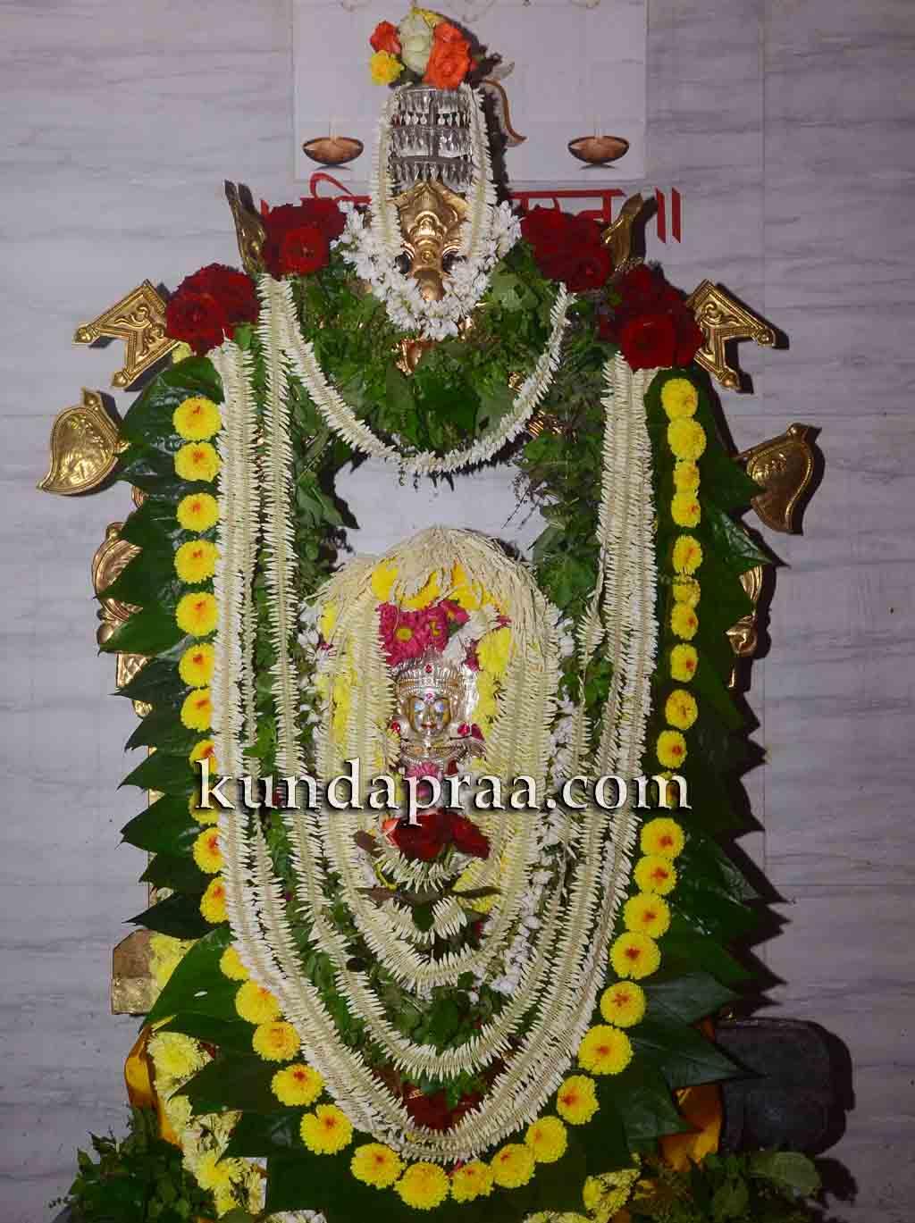 ಕುಂದಾಪುರದ ಶ್ರೀ ದುರ್ಗಾ ಪರಮೇಶ್ವರಿ ದೇವಸ್ಥಾನದ ವಾರ್ಷಿಕ ವರ್ಧಂತ್ಯುತ್ಸವ