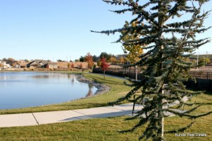 Hansen Park Pond in Kennewick
