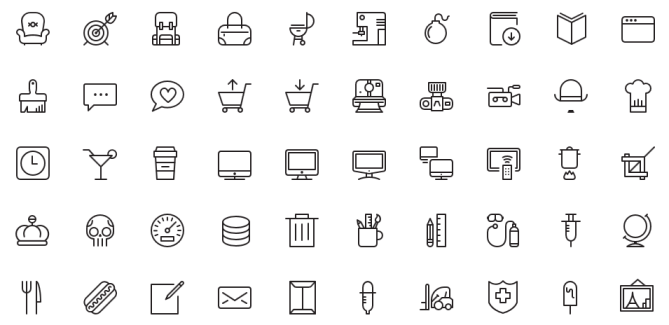 Free iOS7 Vector Icons For Designers and Developers