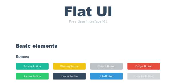 designmodo flat ui kit gratuit
