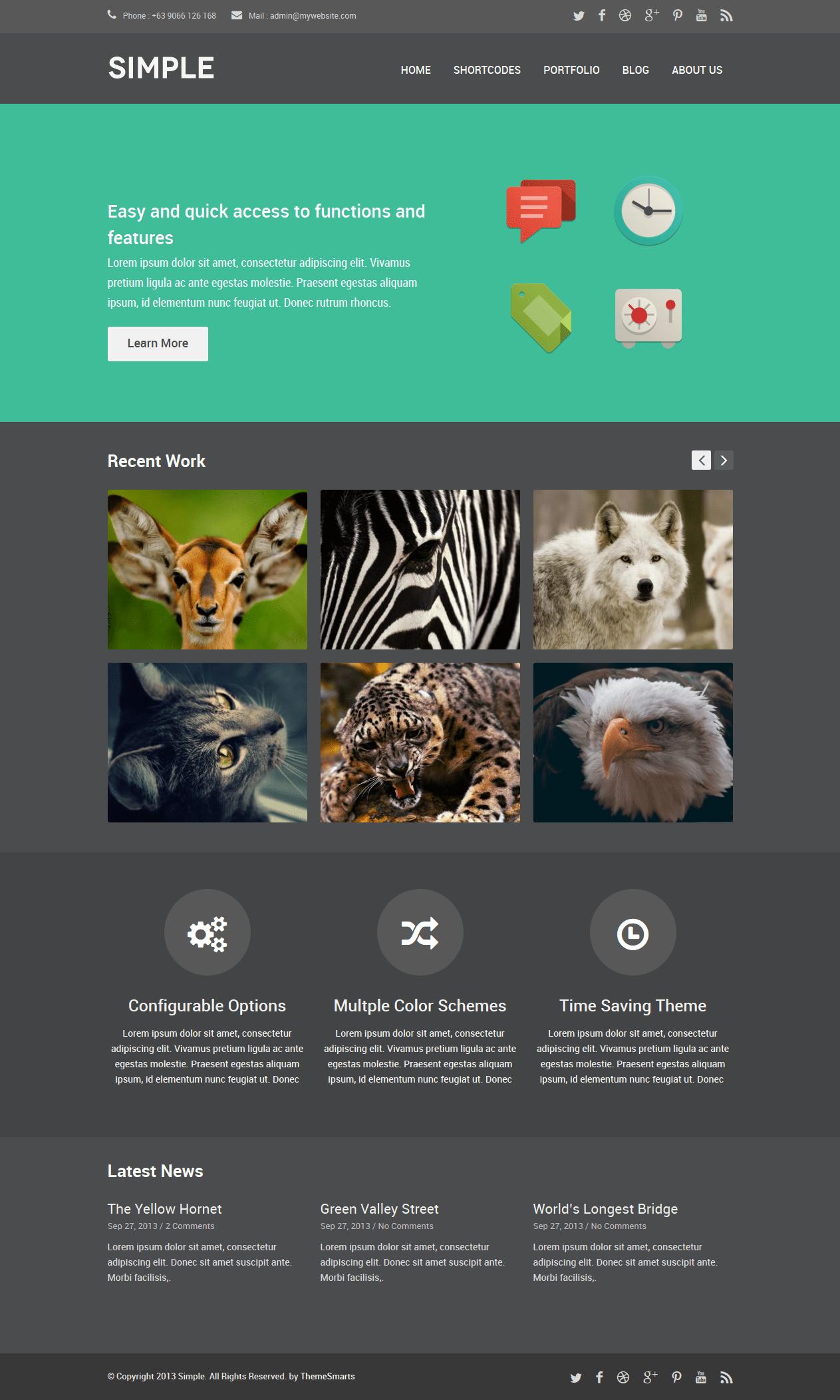 theme-wordpress-responsive-flat-simple
