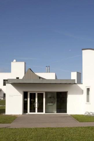 Außenansicht Vitra Design Museum Gallery, Vitra Design Museum 2011; Foto: Bettina Matthiessen, Frank Gehry, Architektur, Moderne, 1980er