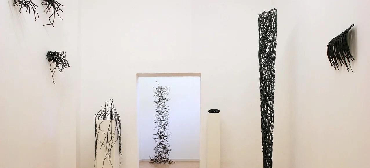 """Ausstellungsansicht """"Schattengewächse"""", Galerie Ruppert, Birkweiler, 2019. Foto: Galerie Ruppert."""