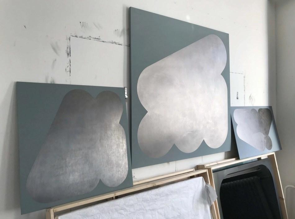 Im Atelier bei Florina Leinß. Foto: Florina Leinß.