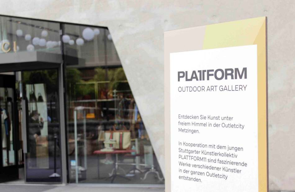 PLATTFORM11 Outdoor Art Gallery, 2021. Foto: Julia Berghoff.