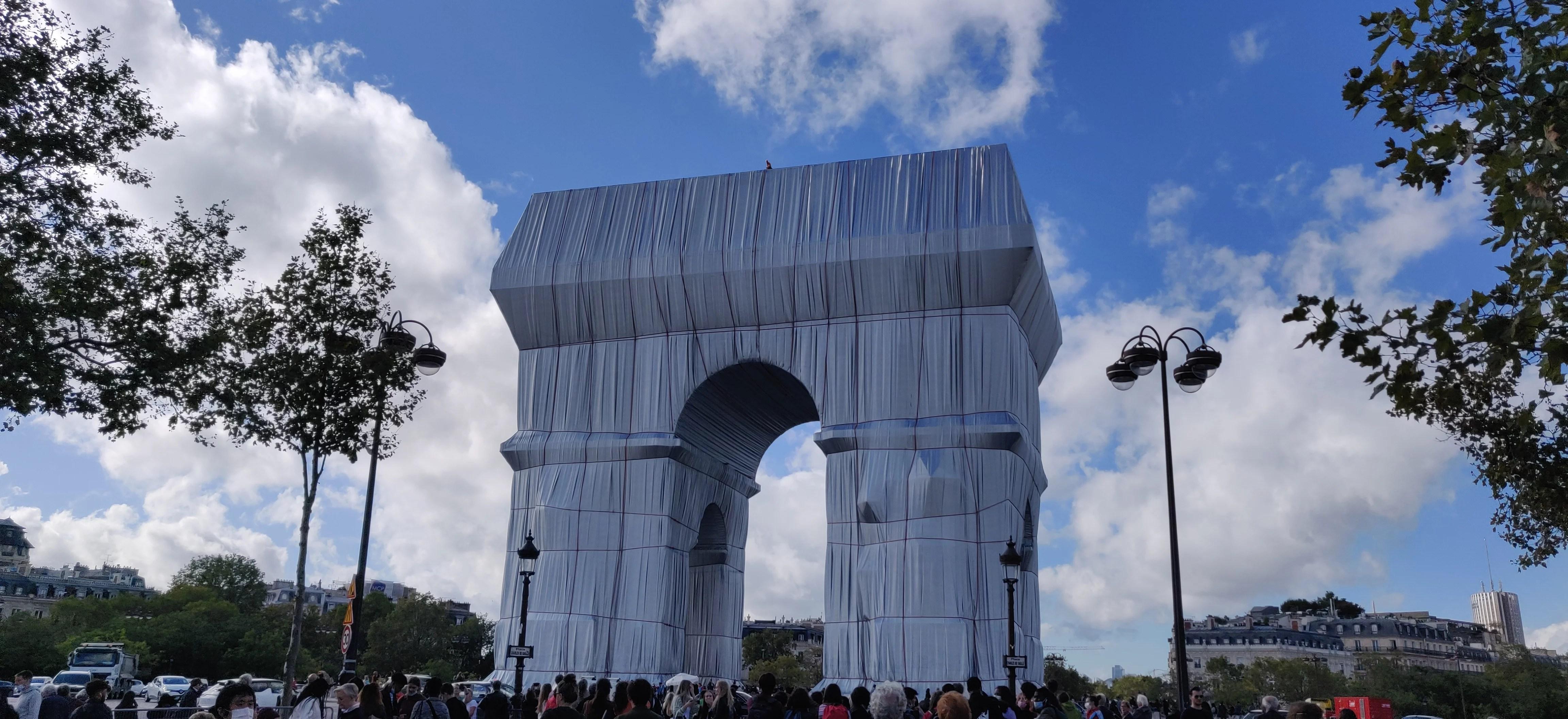Christo und Jeanne Claude: L'Arc de Triomphe Wrapped