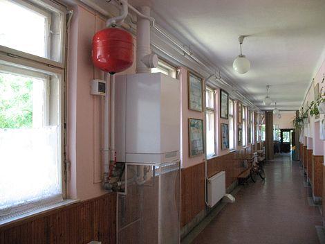 Iskolai fűtés korszerűsítés