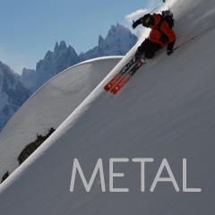 METAL - persona haciendo un descenso de sky